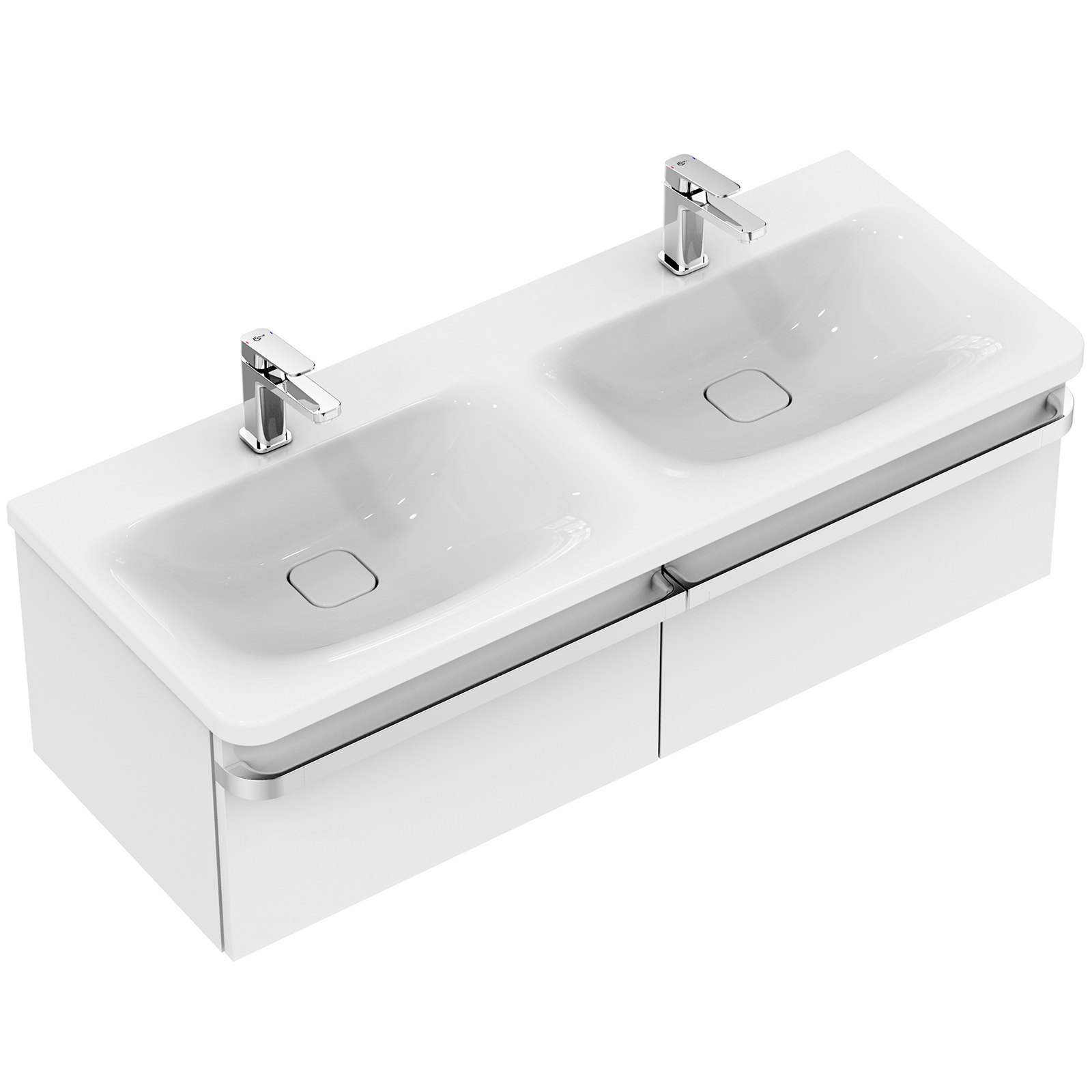 Ideal Standard Tonic 2 : ideal standard tonic ii 1200mm 2 drawers basin unit gloss white ~ Watch28wear.com Haus und Dekorationen