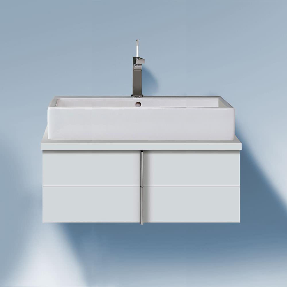 duravit vero 1000 x 518mm 2 drawer unit for console. Black Bedroom Furniture Sets. Home Design Ideas