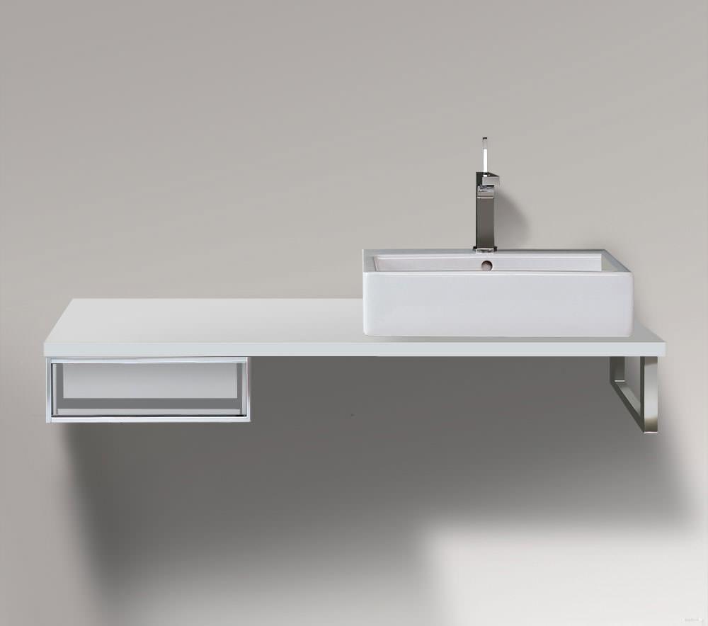 duravit vero 400 x 518mm cabinet for console 1 open. Black Bedroom Furniture Sets. Home Design Ideas