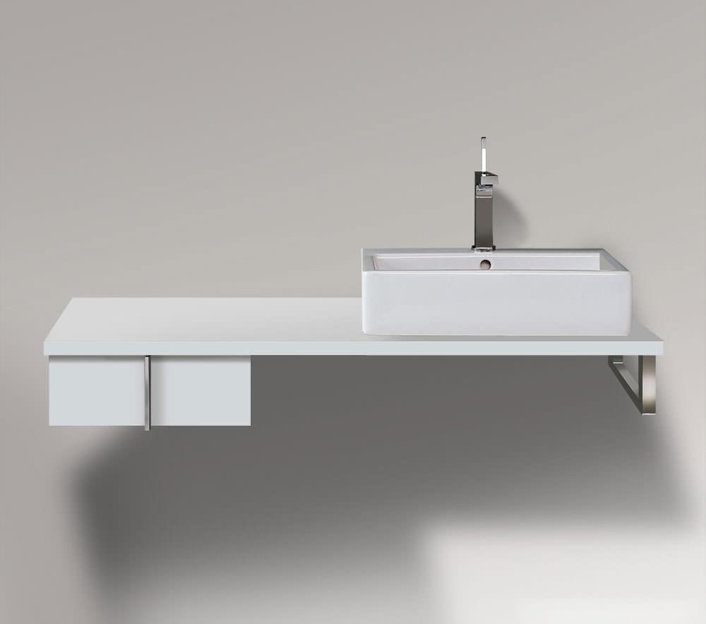 Duravit vero 400 x 518mm 1 drawer cabinet for console - Duravit bathroom furniture uk ...