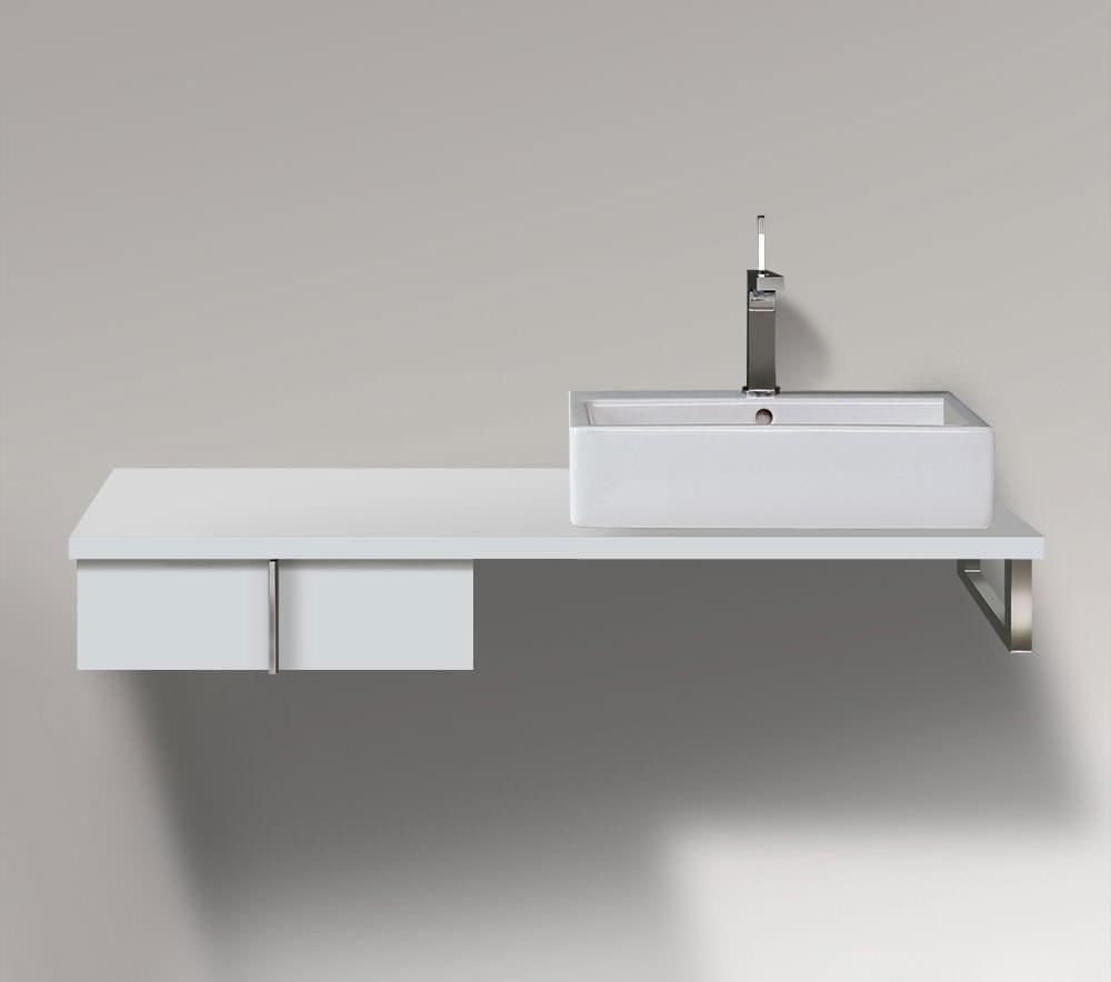 duravit vero 500 x 518mm 1 drawer cabinet for console ve656801818. Black Bedroom Furniture Sets. Home Design Ideas