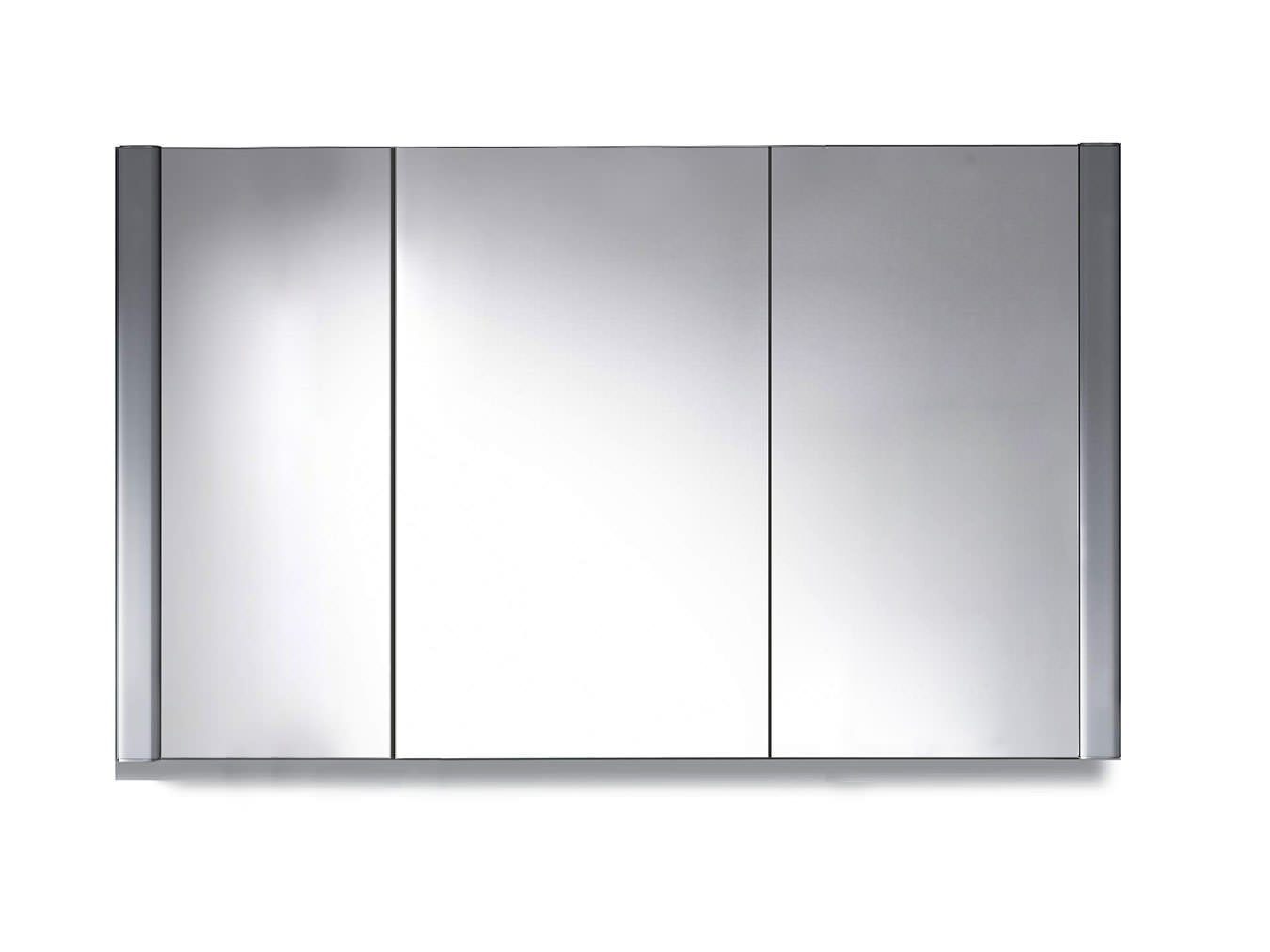 Duravit 1200 X 660mm 3 Door Mirror Cabinet