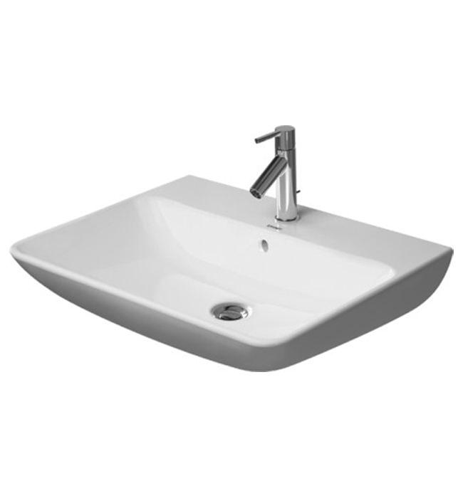 duravit me by starck 650mm 1 taphole washbasin 2335650000. Black Bedroom Furniture Sets. Home Design Ideas