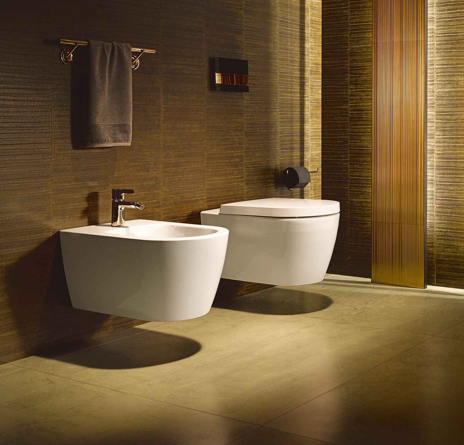 Duravit me by starck compact wall mounted toilet 2530090000 for Duravit starck