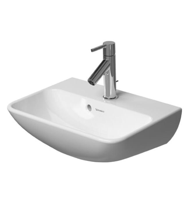duravit me by starck 450mm handrise basin 0719450000. Black Bedroom Furniture Sets. Home Design Ideas