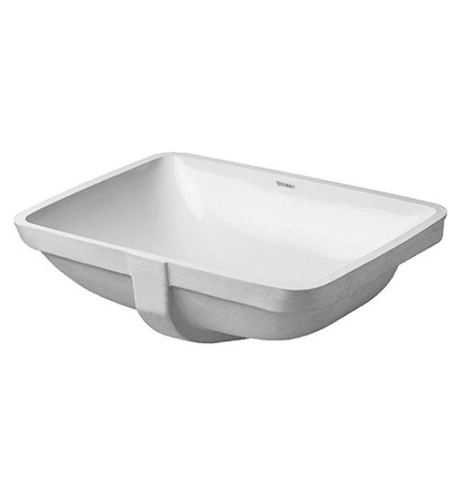 duravit p3 comforts 490mm grinded vanity basin 0305490000. Black Bedroom Furniture Sets. Home Design Ideas