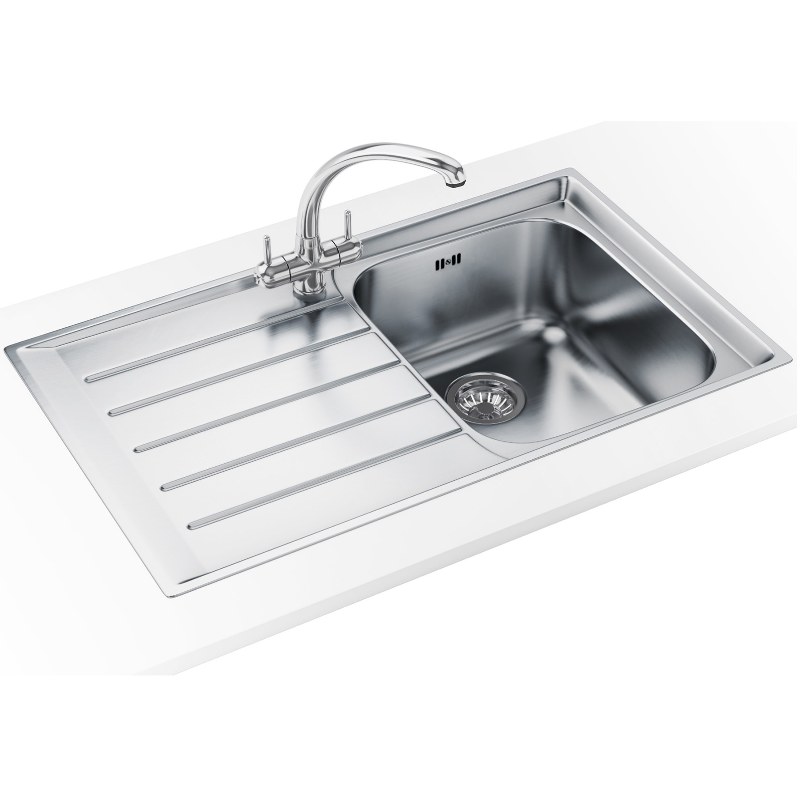 Franke Neptune Propack NEX 211 Stainless Steel Sink And Tap ...