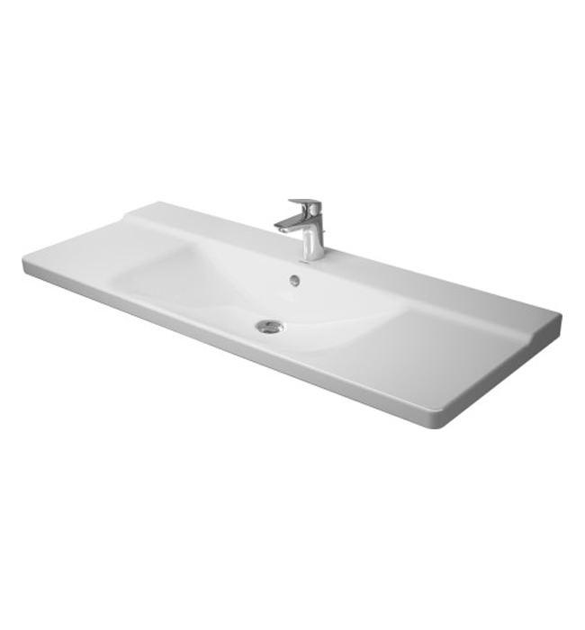 duravit p3 comforts 1250mm furniture washbasin 2332120000. Black Bedroom Furniture Sets. Home Design Ideas