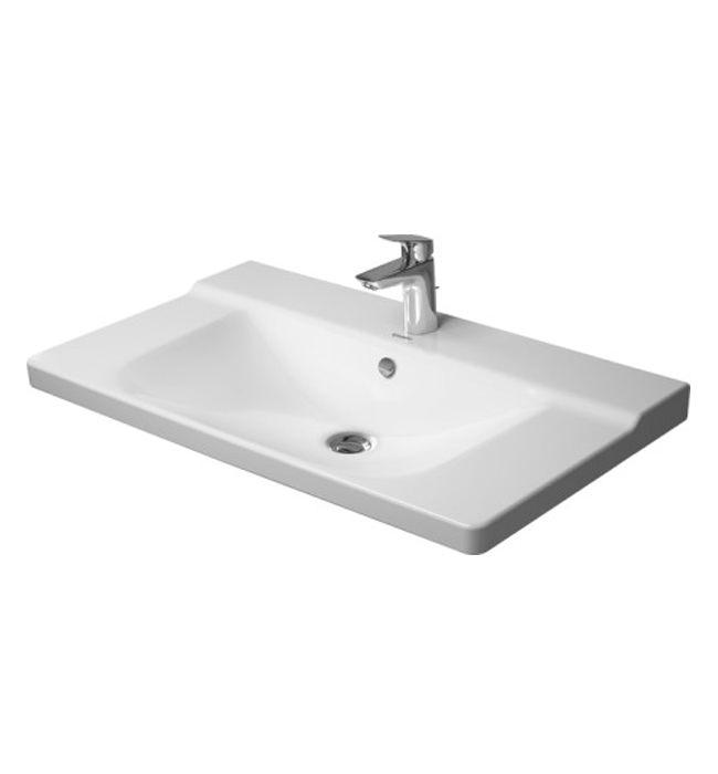 duravit p3 comforts 850mm furniture washbasin 2332850000. Black Bedroom Furniture Sets. Home Design Ideas