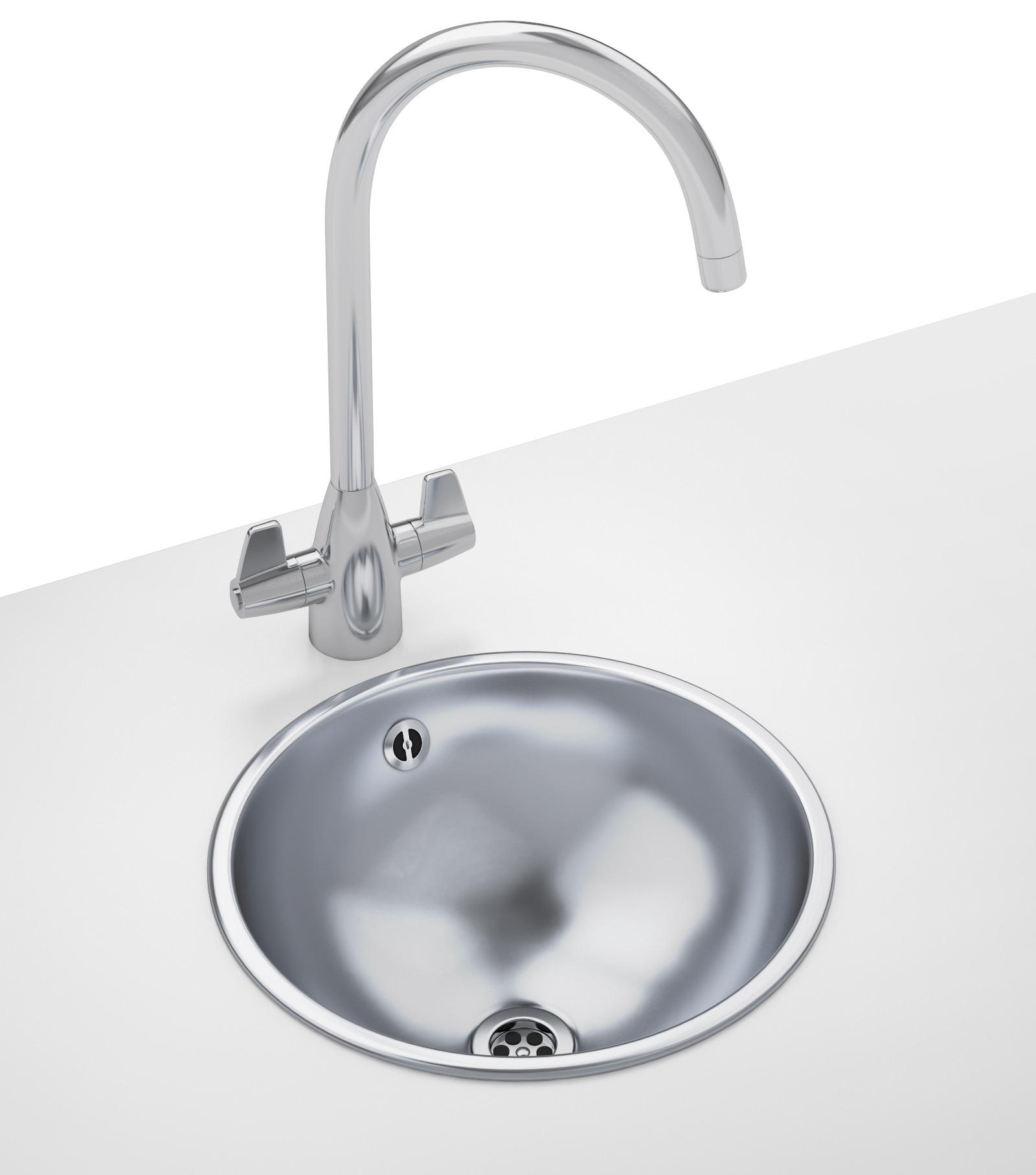 Franke rondo designer pack rnx 610 stainless steel sink for Designer kitchen sinks stainless steel