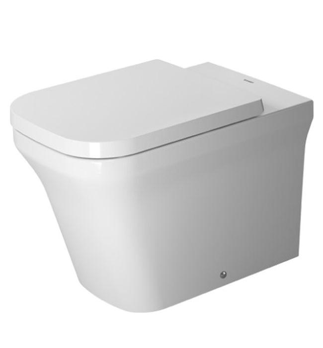 duravit p3 comforts 380 x 600mm floor standing toilet 2166090000. Black Bedroom Furniture Sets. Home Design Ideas