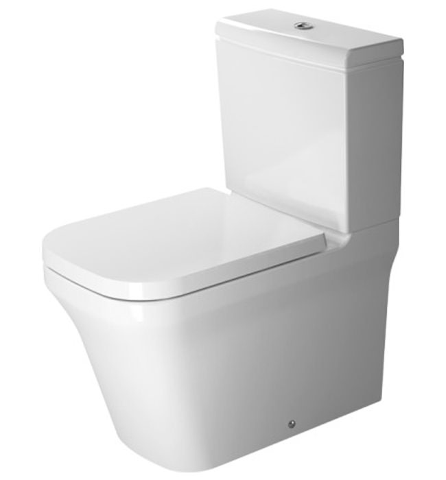 duravit p3 comforts close coupled toilet with cistern. Black Bedroom Furniture Sets. Home Design Ideas