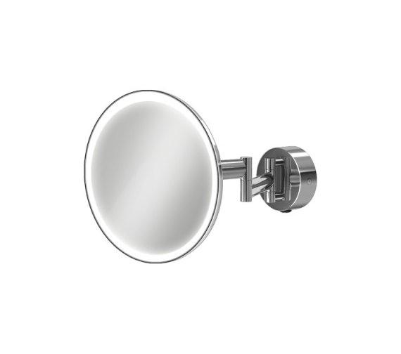 Hib Eclipse Round Led Illuminated Magnifying Mirror 21100