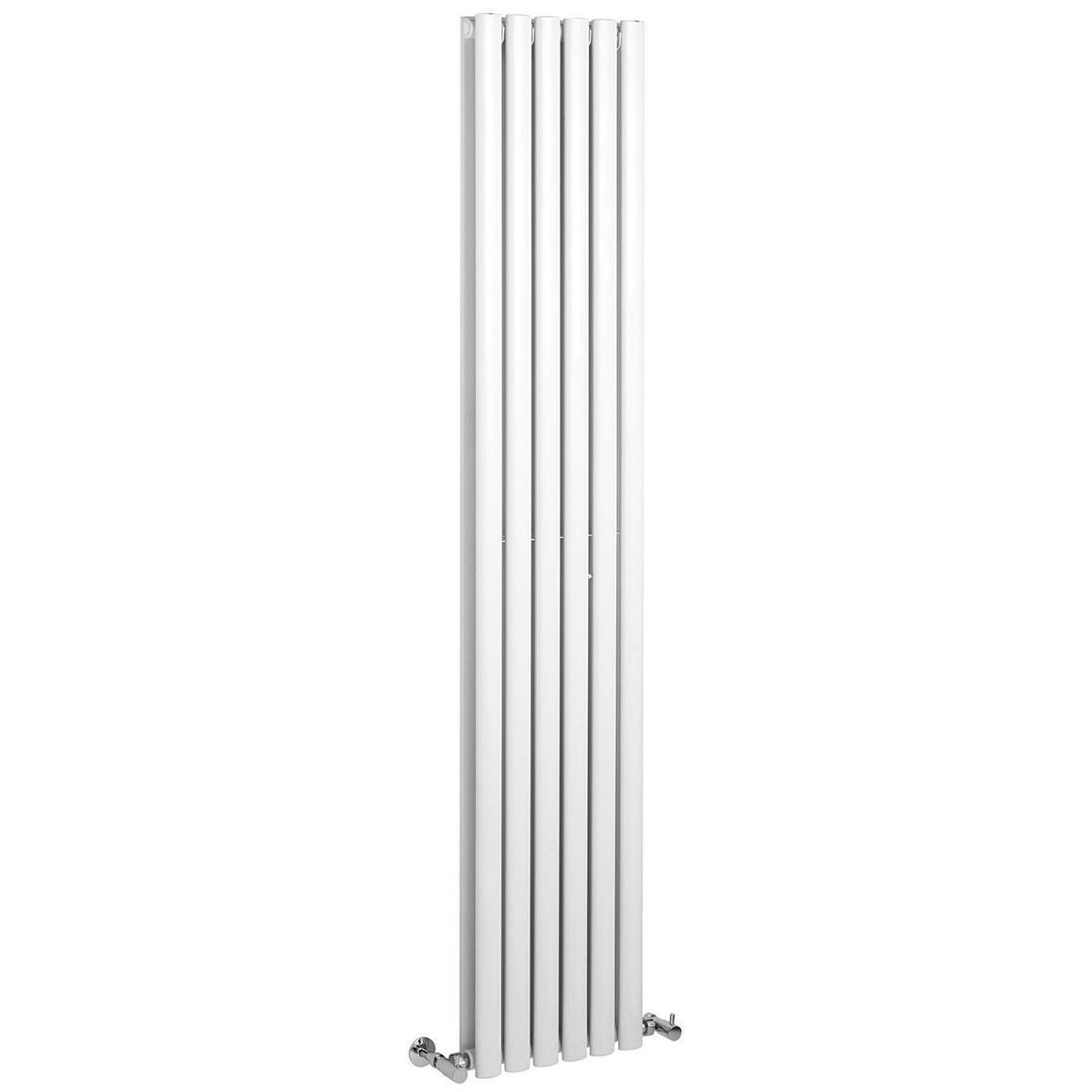 beo retro 326 354 x 1800mm vertical designer radiator high gloss white. Black Bedroom Furniture Sets. Home Design Ideas