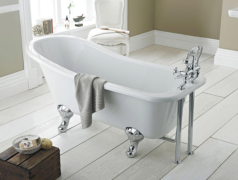 Lauren Kensington 1500 X 730mm Freestanding Acrylic Bath