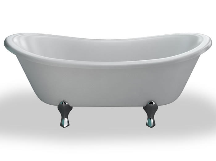 Burlington Bateau Freestanding Double Ended Bath 1640 X