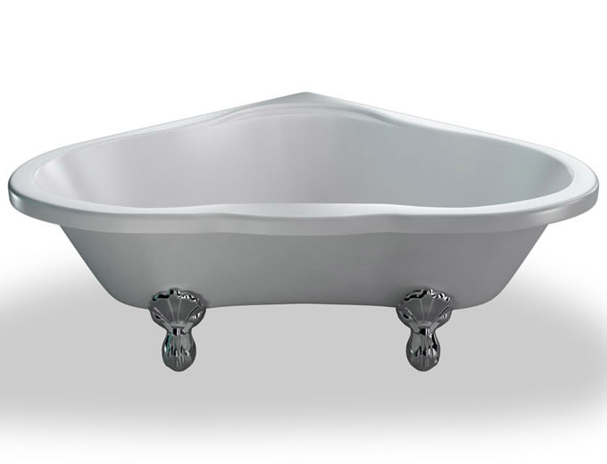 ... baths corner baths burlington heart corner bath 1630 x 1330mm