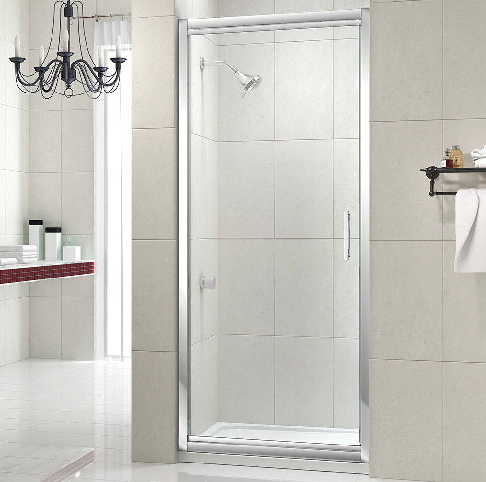 Merlyn 8 series 1000mm infold shower door m84431 for 1000mm shower door