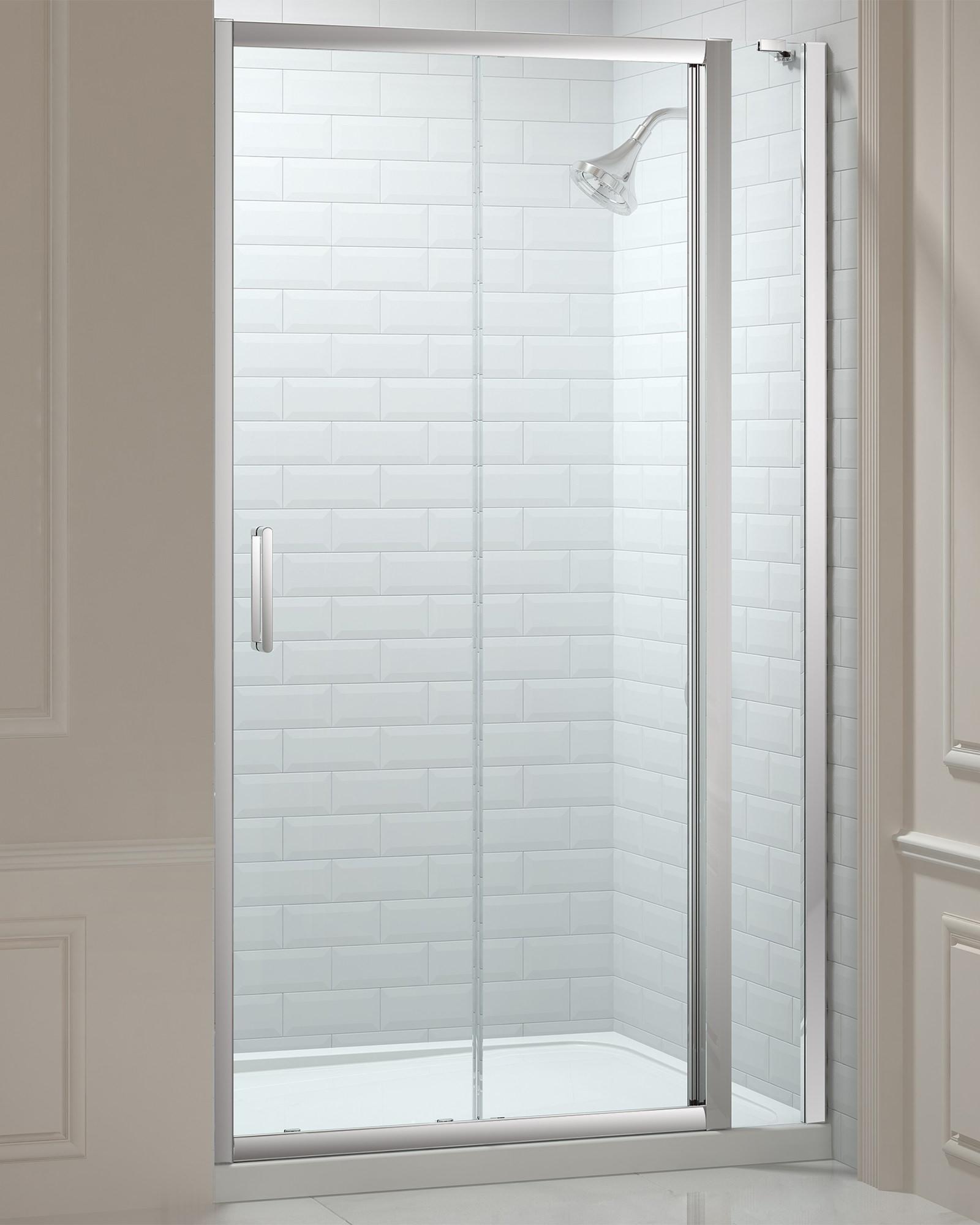 Merlyn 8 series 1000mm sliding door and 150mm inline panel for 1000mm door