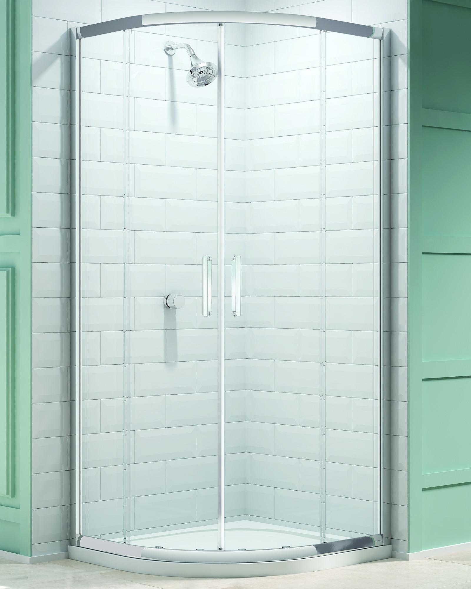 Merlyn 8 Series 800 X 800mm 2 Door Quadrant Shower Enclosure