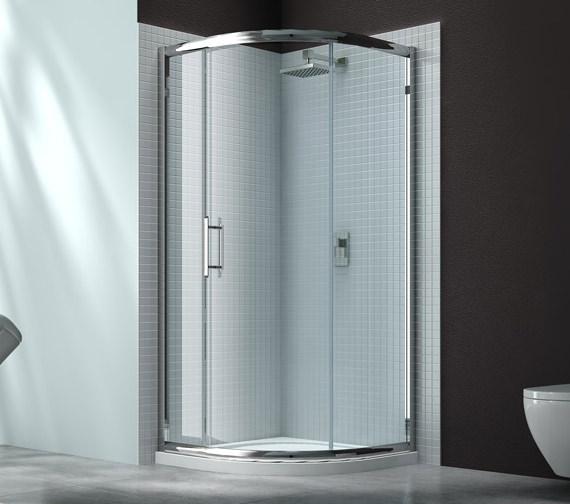 Merlyn 6 Series Single Sliding Door Quadrant Enclosure