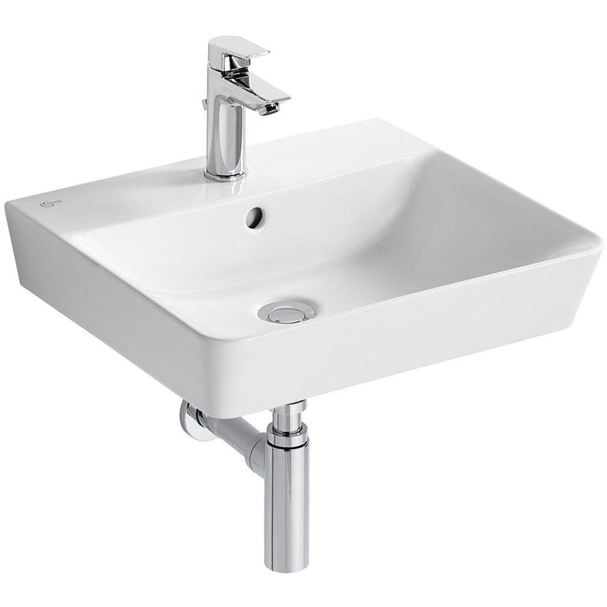 ideal standard concept air cube 500 x 450mm washbasin. Black Bedroom Furniture Sets. Home Design Ideas