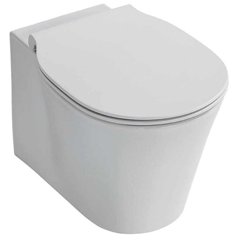 ideal standard concept air aquablade wall hung wc pan 545mm e079601. Black Bedroom Furniture Sets. Home Design Ideas