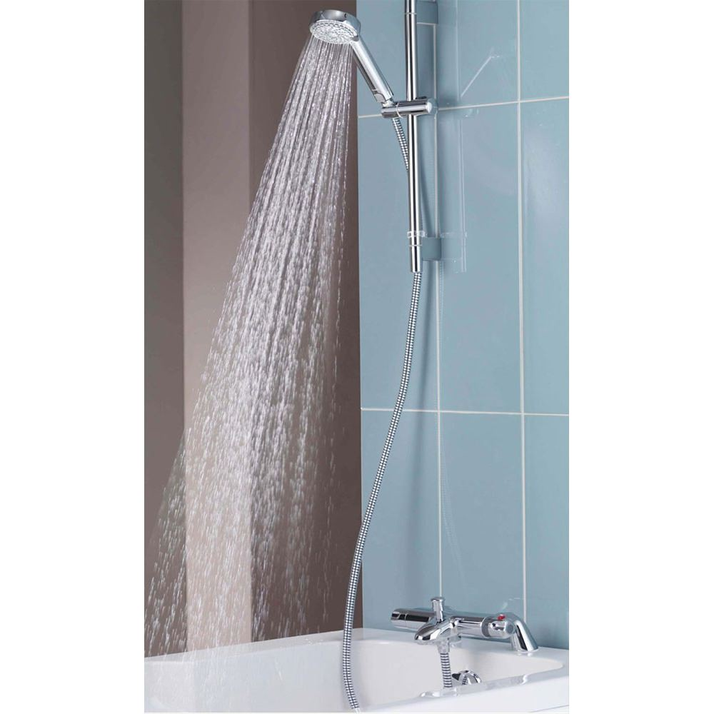 Aqualisa Midas 100 Thermostatic Bath Shower Mixer Tap With Kit Md100bsm