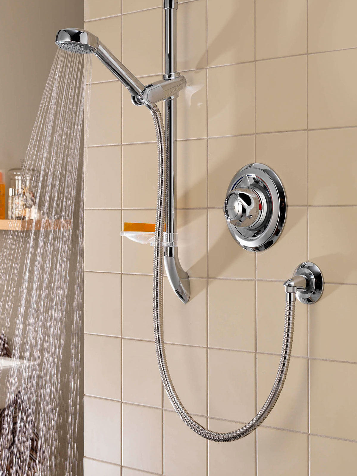 Aqualisa colt concealed thermostatic shower mixer valve - Shower controls ...