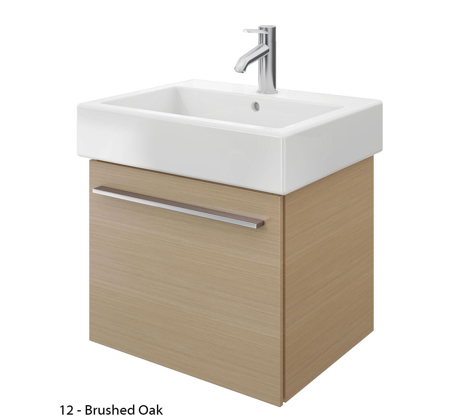 Duravit x large 550mm vanity unit with 600mm vero - Duravit bathroom furniture uk ...