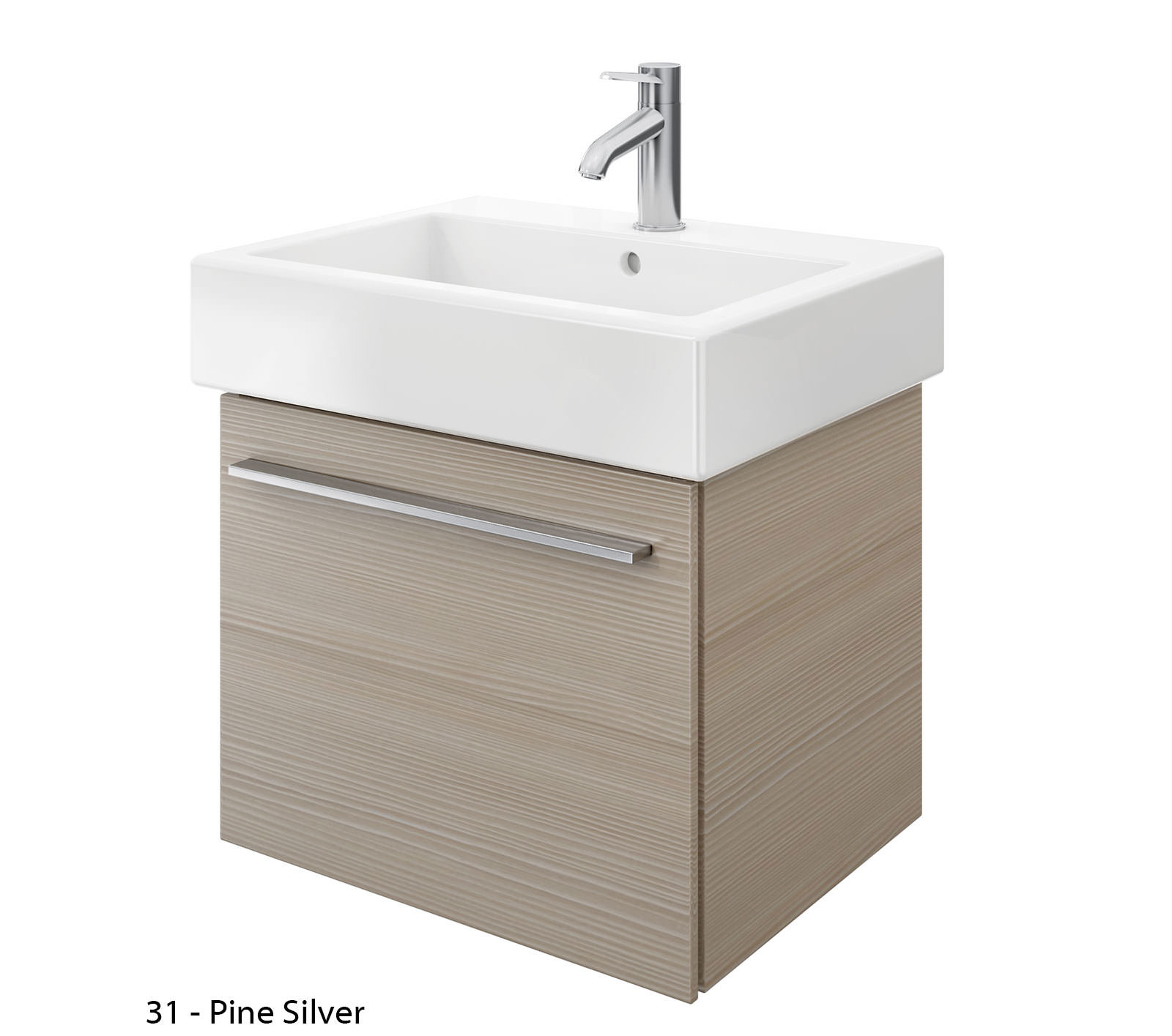 duravit x large 550mm vanity unit with 600mm vero washbasin xl604401818. Black Bedroom Furniture Sets. Home Design Ideas