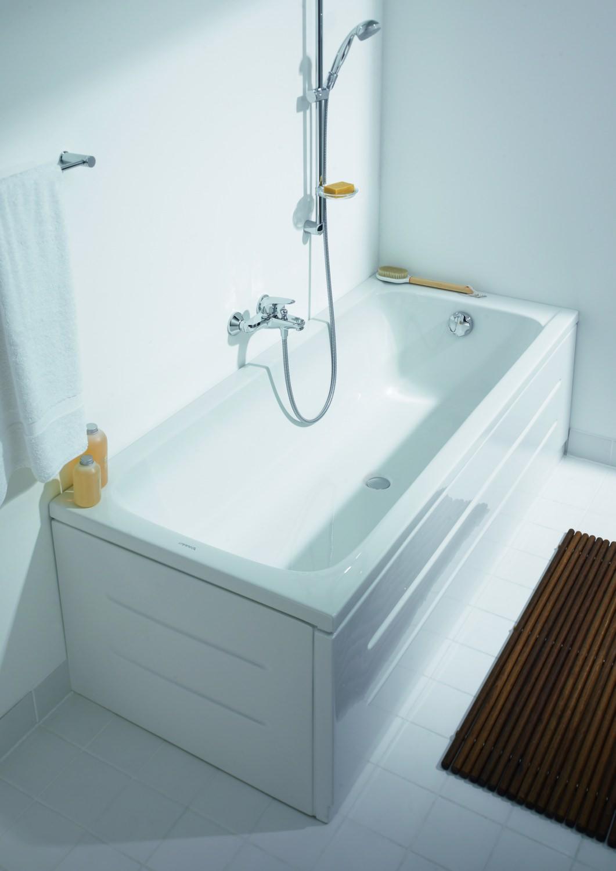 Duravit D Code 1700 X 700mm Rectangular Bath Central Outlet