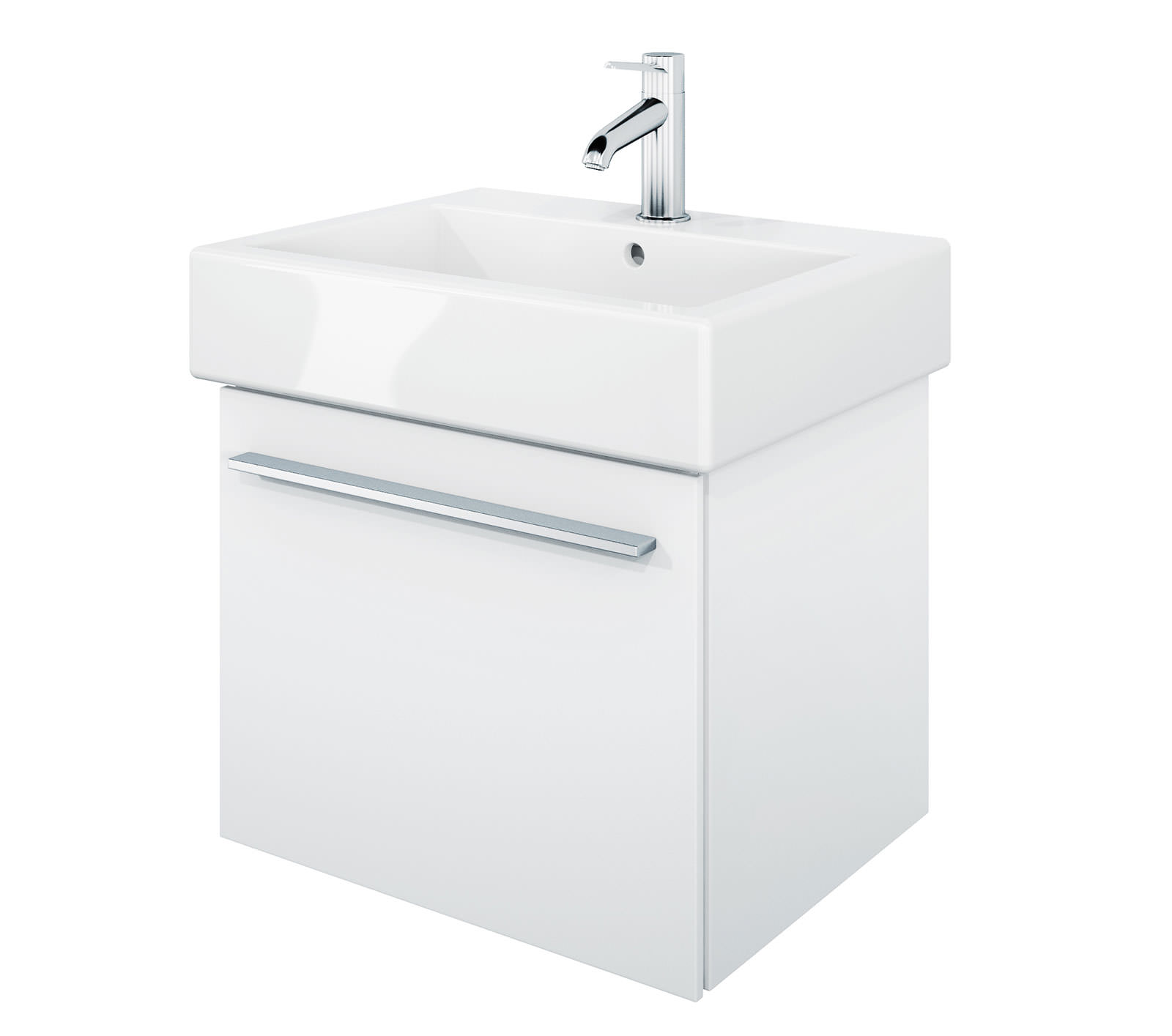 Duravit x large 450mm vanity unit with 500mm vero for Large bathroom units