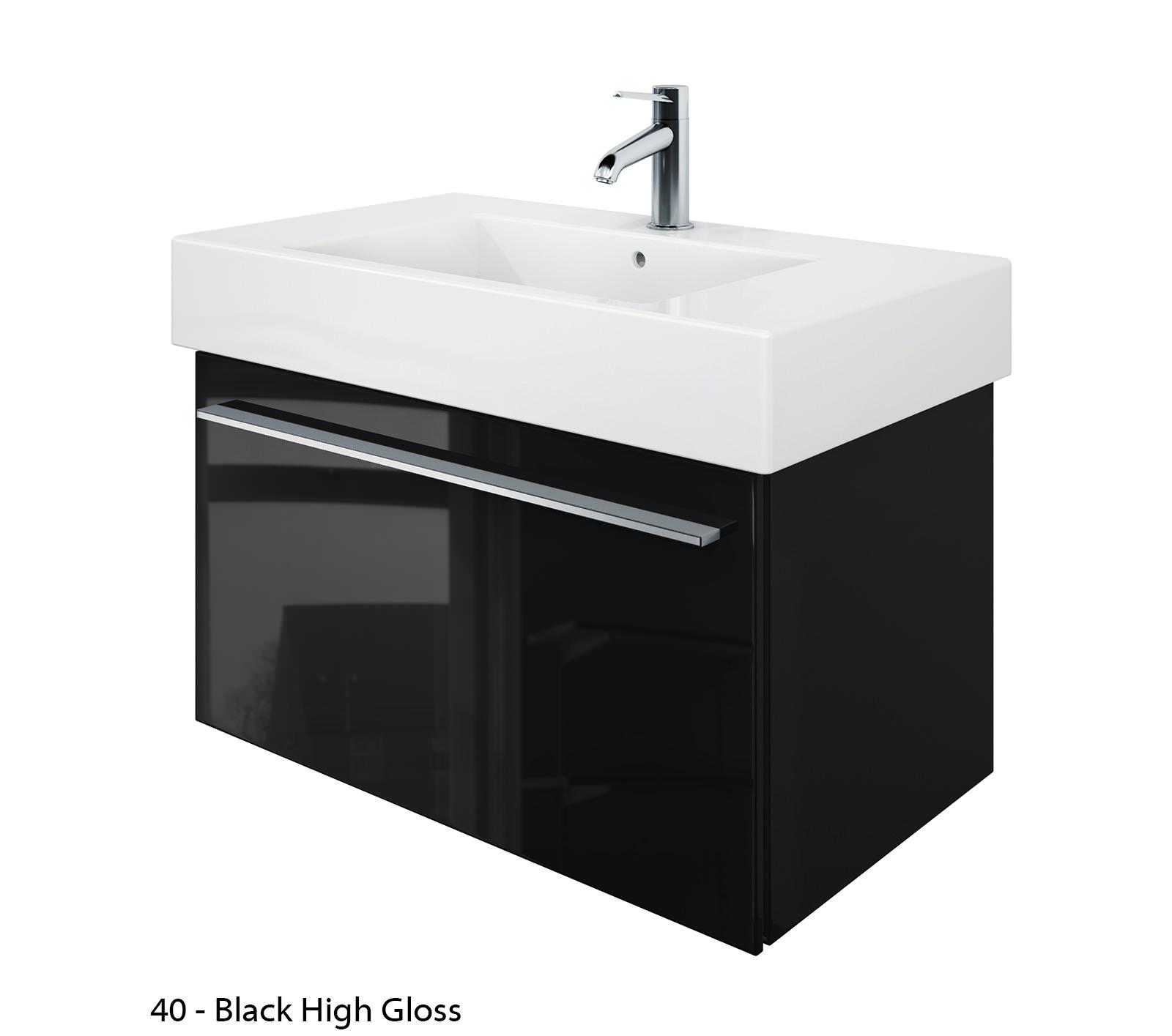 duravit x large 800mm vanity unit with 850mm vero washbasin xl605201818. Black Bedroom Furniture Sets. Home Design Ideas