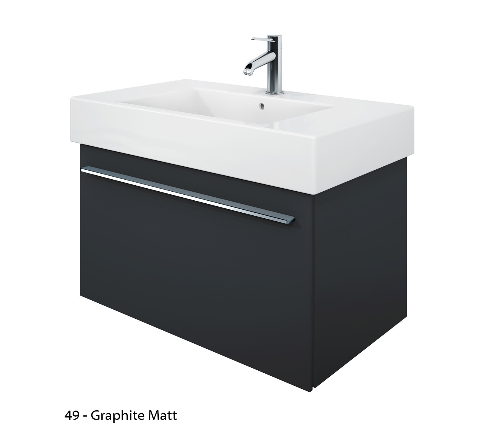 duravit x large 800mm vanity unit with 850mm vero washbasin xl605201818. Black Bedroom Furniture Sets. Home Design Ideas