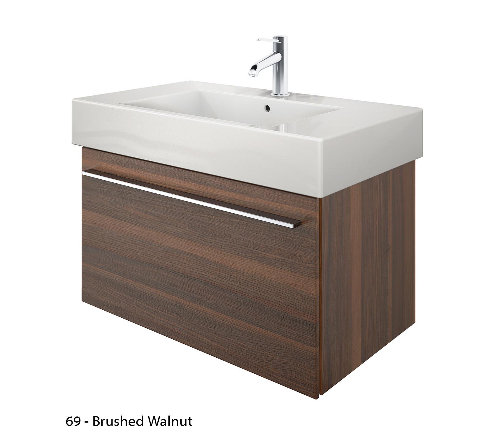 duravit x large 800mm vanity unit with 850mm vero. Black Bedroom Furniture Sets. Home Design Ideas