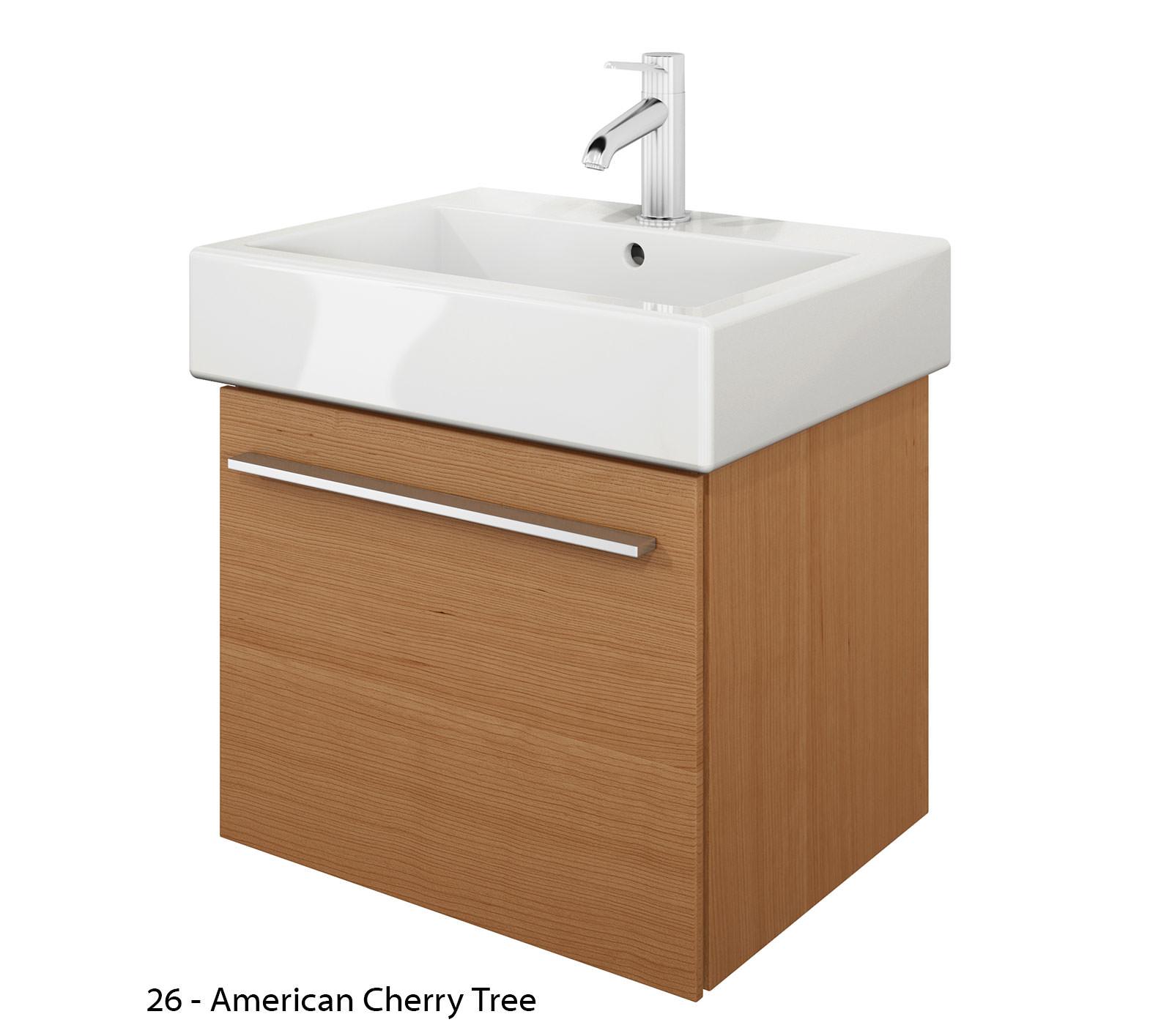 Duravit x large 450mm vanity unit with 500mm vero - Duravit bathroom furniture uk ...