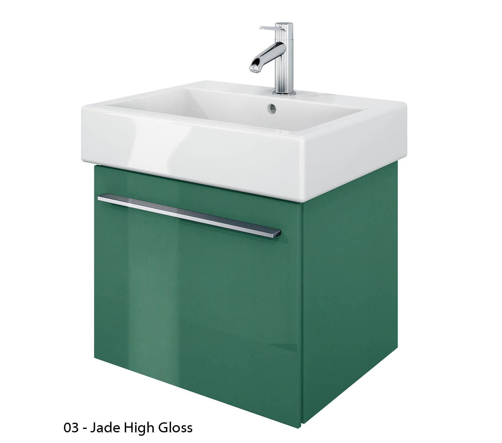 duravit x large 450mm vanity unit with 500mm vero. Black Bedroom Furniture Sets. Home Design Ideas