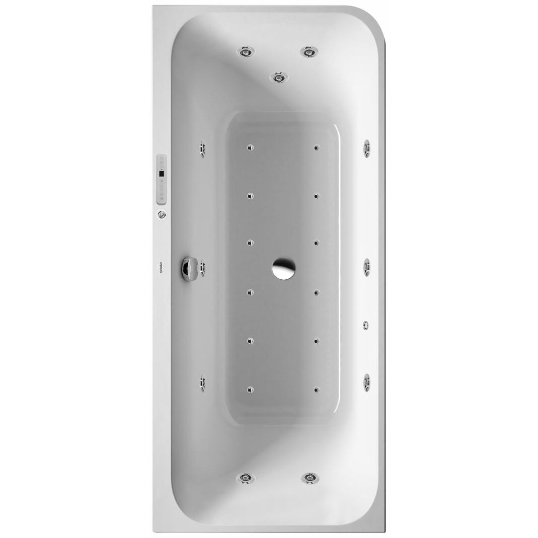Shower Rails For Corner Baths Duravit Happy D2 Corner 1800x800mm Bath With Panel Combi
