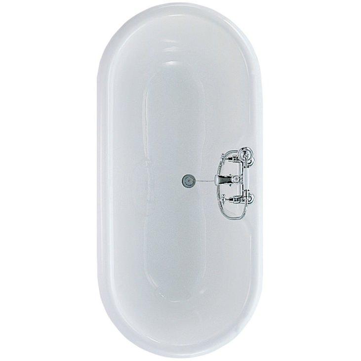 Ideal Standard Idealcast Roll Top Bath 1700 X 800mm E403001