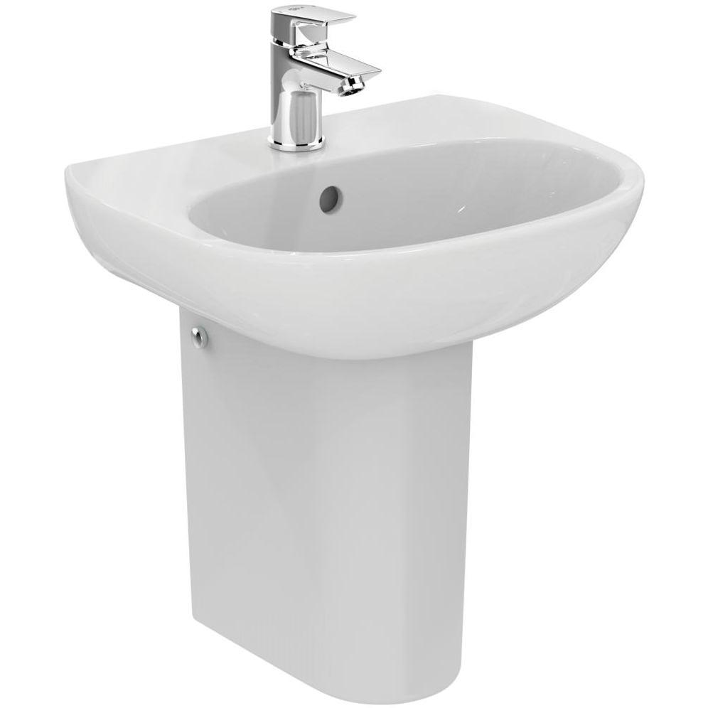 Ideal standard tesi 450 x 360mm handrinse washbasin t031301 for Tesi design ideal standard