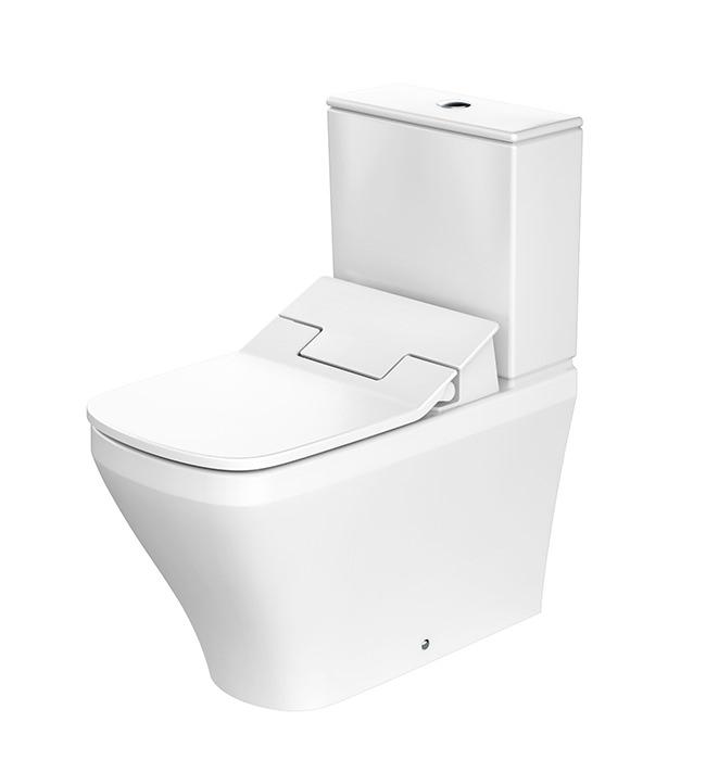 duravit sensowash slim seat with durastyle close coupled. Black Bedroom Furniture Sets. Home Design Ideas