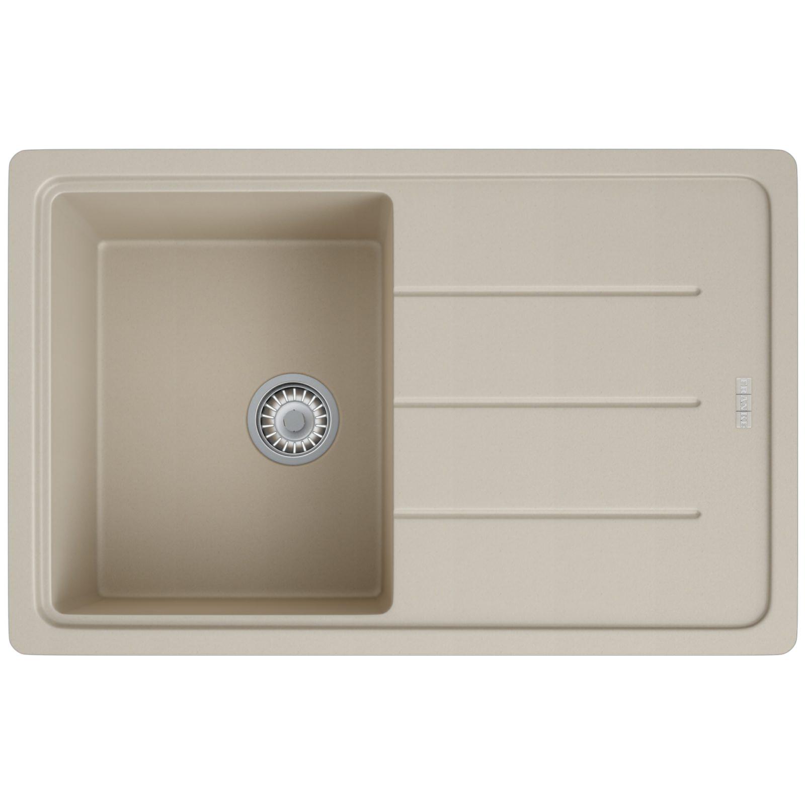 Franke Inset Sink : Franke Basis BFG 611-780 Fragranite Coffee 1.0 Bowl Kitchen Inset Sink ...