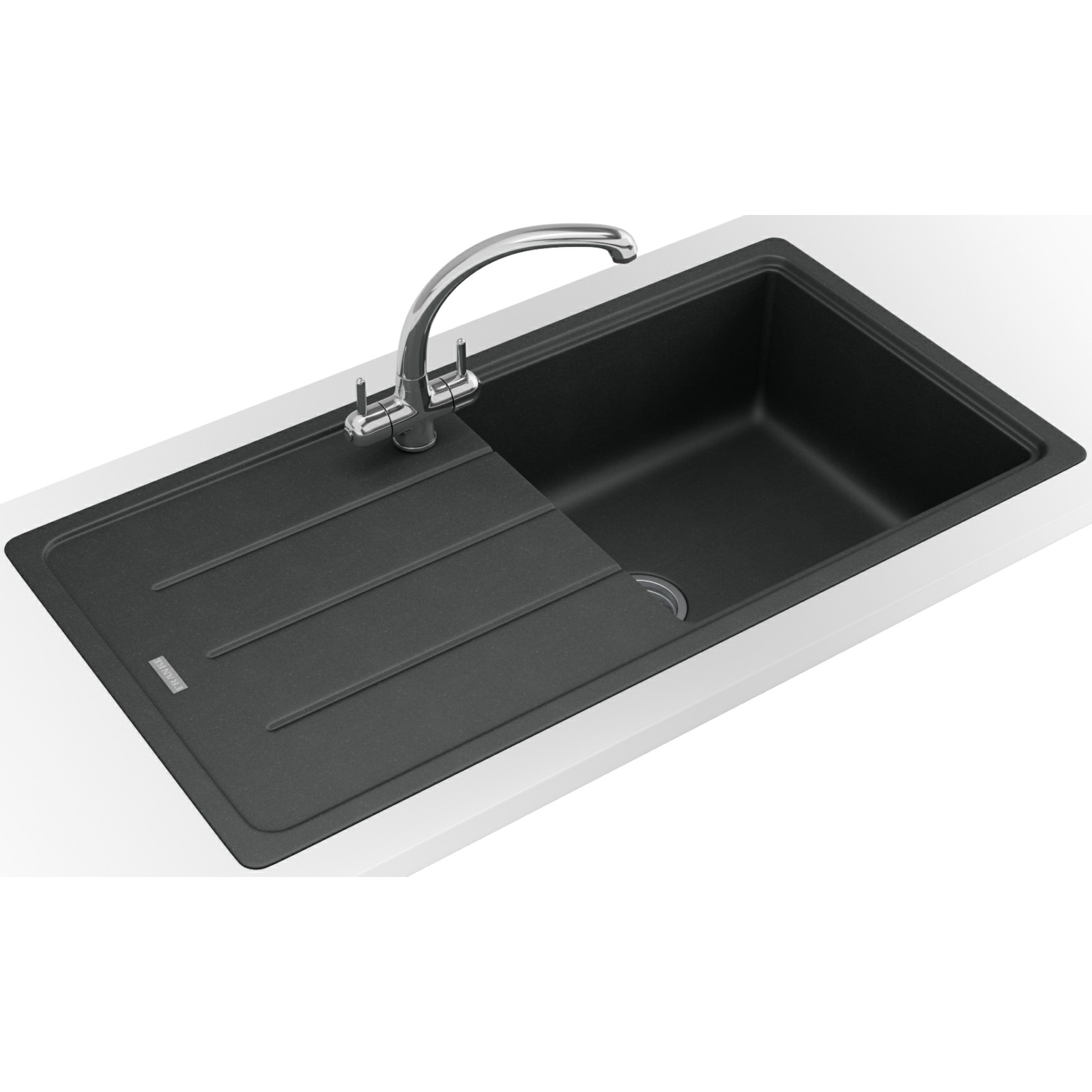Franke Fragranite Sink Review : Franke Basis Propack BFG 611-970 Fragranite Onyx Sink And Tap 114 ...