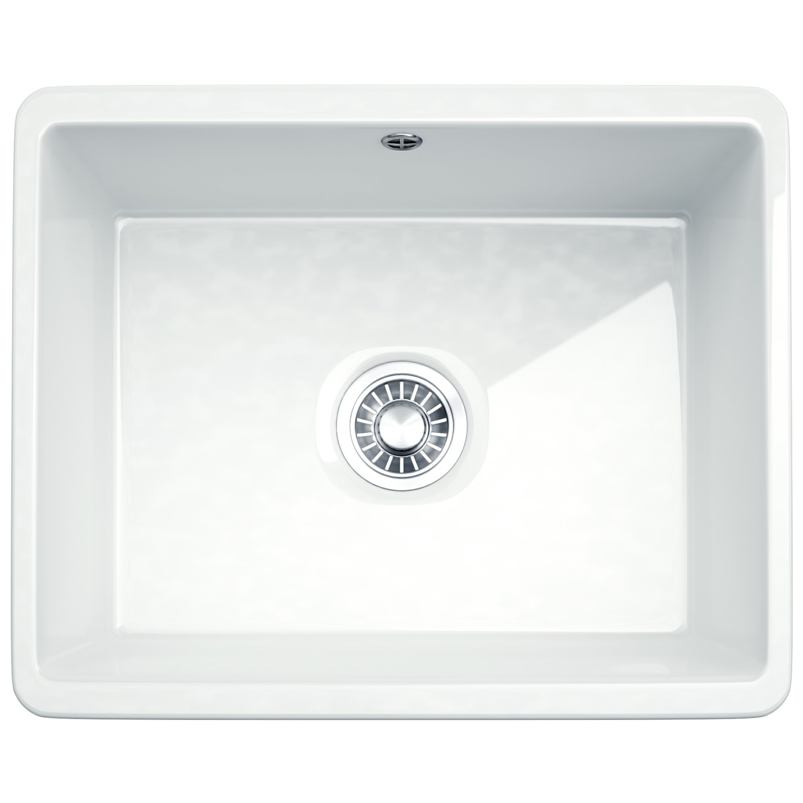 Franke Kubus Kbk 110 50 Ceramic 1 0 Bowl Undermount Kitchen Sink