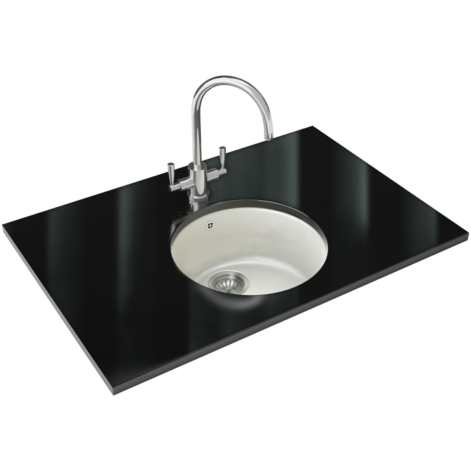 Franke Rotondo Designer Pack RUK 110 Ceramic Kitchen Sink And Tap ...