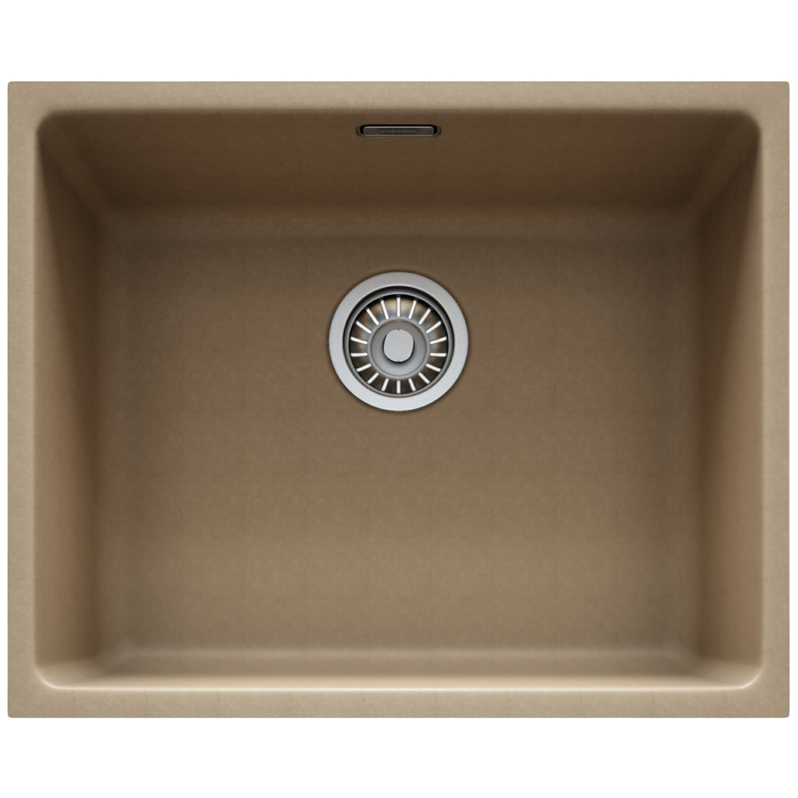 Franke Fragranite Undermount Sink : Franke Kubus KBG 110 50 Fragranite Oyster 1.0 Bowl Undermount Sink ...