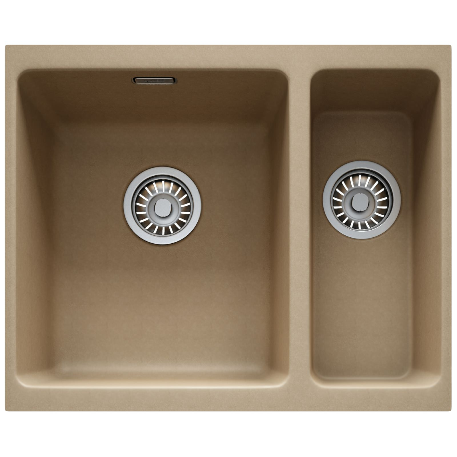 Franke Fragranite Undermount Sink : Franke Kubus KBG 160 Fragranite Oyster 1.5 Bowl Undermount Sink 125 ...