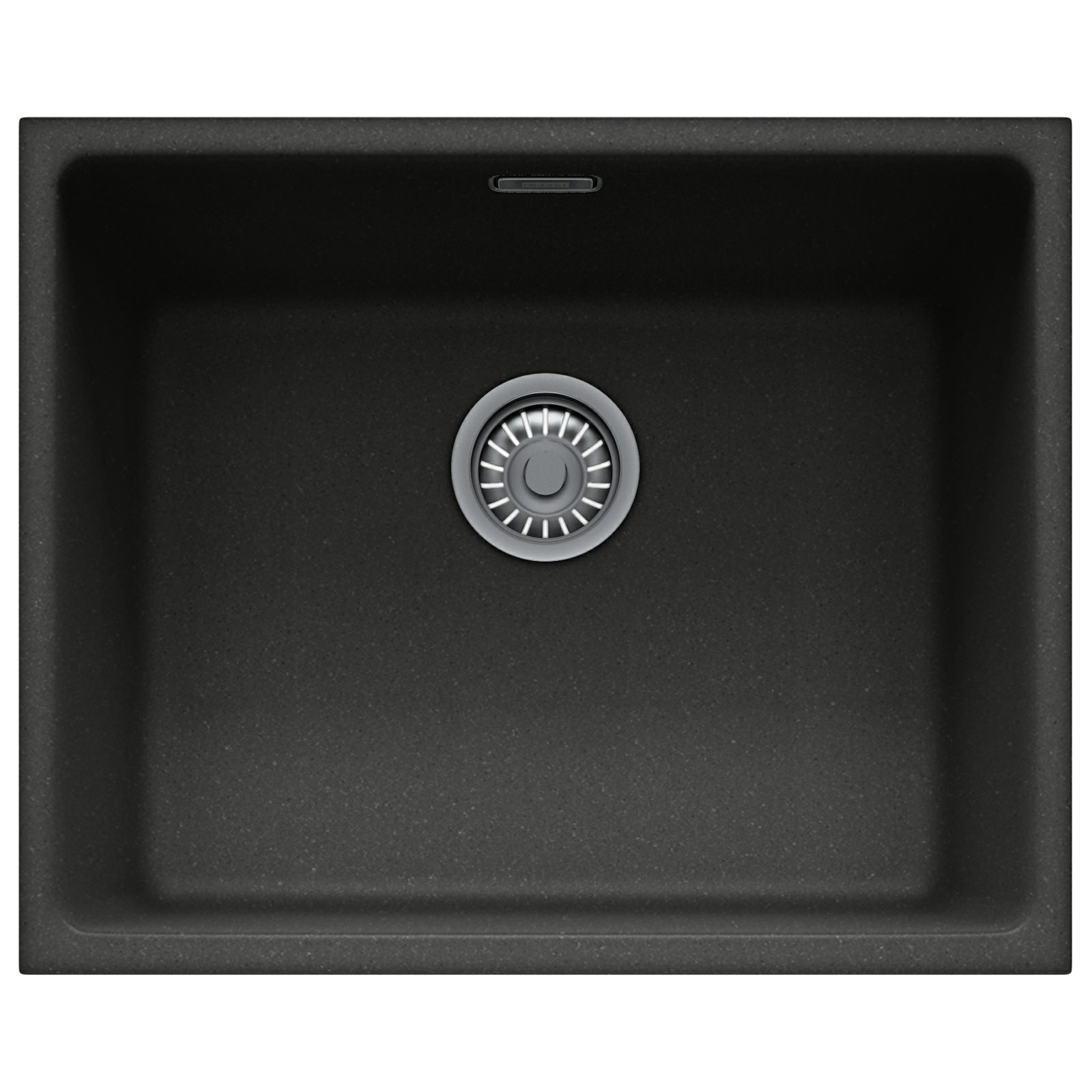Franke Fragranite Undermount Sink : Franke Kubus KBG 110 50 Fragranite Onyx 1.0 Bowl Undermount Sink 125 ...