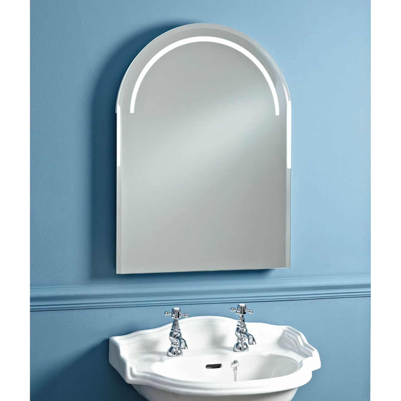 Phoenix Balmoral 550mm Led Back Lit Mirror With Heated